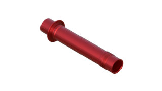 Onyx Axle, Front - FAT ISO 150-20mm Thru 094713 in Red