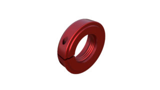 Onyx Nut, Locking - 15mm 083579 in Red