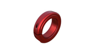 Onyx Nut, Locking - 20mm 041009 in Red
