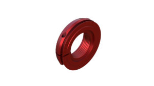 Onyx Nut, Locking, Seal - 17mm 095261 in Red
