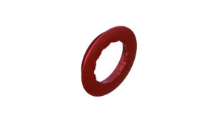 Onyx Ring, Locking 040034 in Red